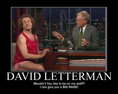 Letterman Big Raise